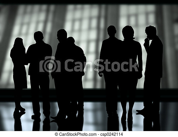 Business, équipe - csp0242114