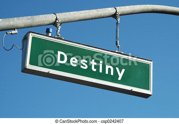 Destiny sign - csp0242407