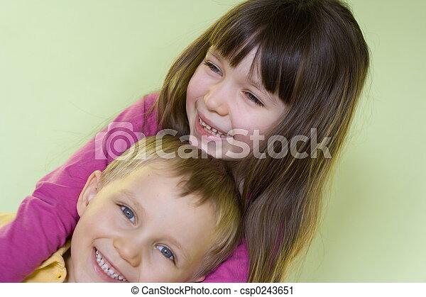 happy children - csp0243651