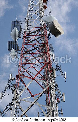 Kommunikation, Turm - csp0244392