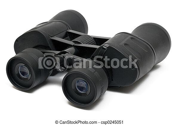 Binoculars Front - csp0245051