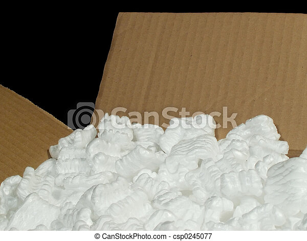 box with packing material - csp0245077