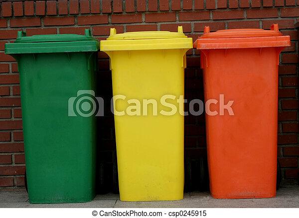 Rubbish bins - csp0245915