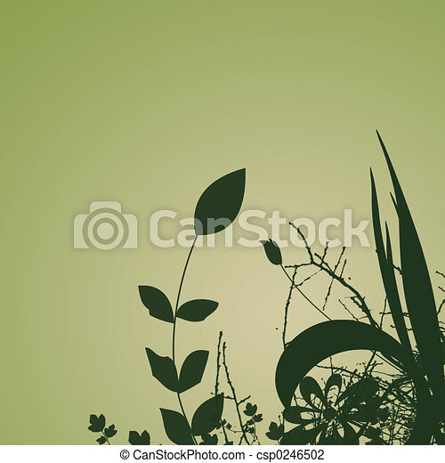 Plants Background - csp0246502