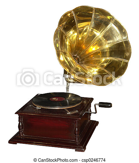 gramophone - csp0246774