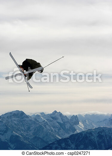 Freestyle skiing - csp0247271