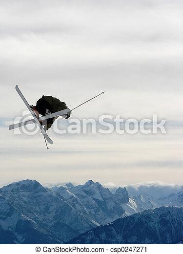 Freestyle skiing - csp0247271