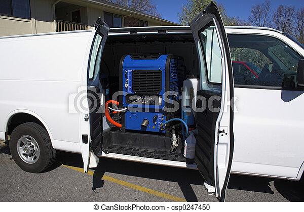carpet cleaning van 2 - csp0247450