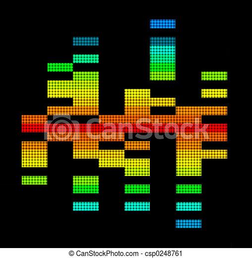 Digital Equalizer - csp0248761