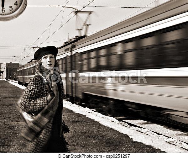 missed train - csp0251297