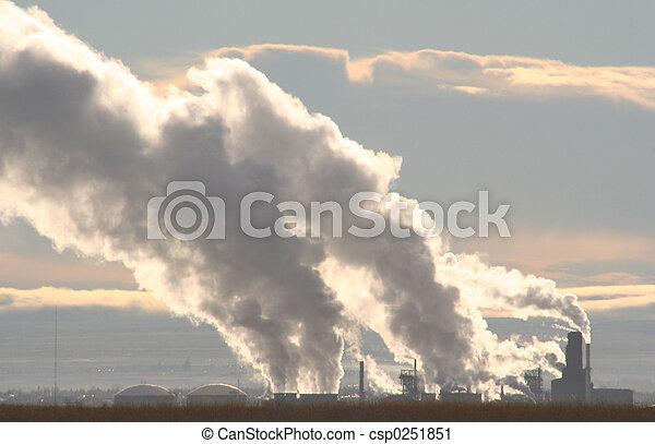 Morning Pollution - csp0251851