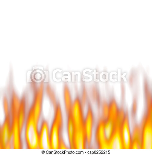 Hot Firey Flames - csp0252215