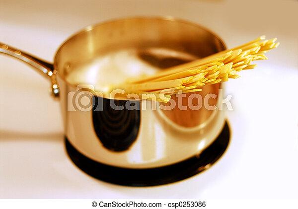Cooking pasta - csp0253086
