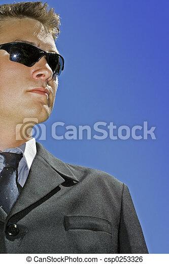 business man wearing - csp0253326