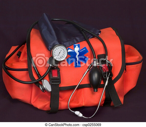 EMT - First aid bag - csp0255069