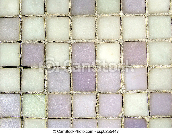 Grungy mosaic patter - csp0255447