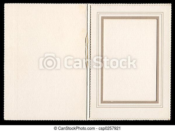 Vintage Frame o4 - csp0257921