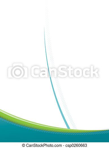 moderno, pagina, sagoma - csp0260663