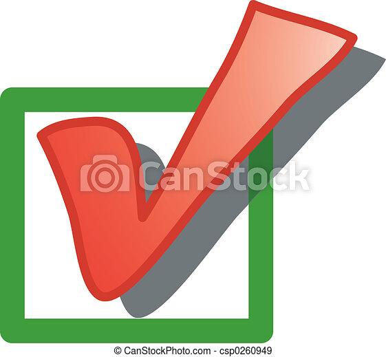 Check box icon - csp0260949