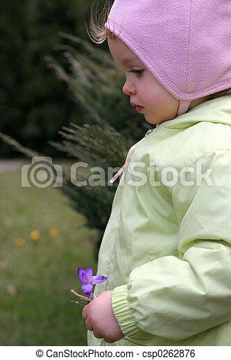 Spring baby  - csp0262876