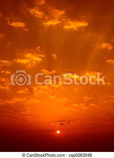 Sunrise colors - csp0263048