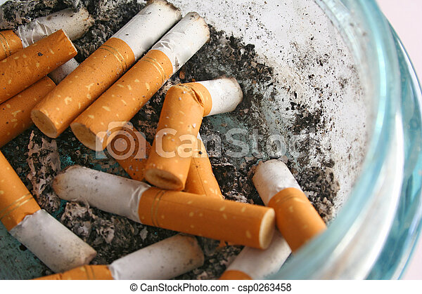 Cigarette Butts - csp0263458