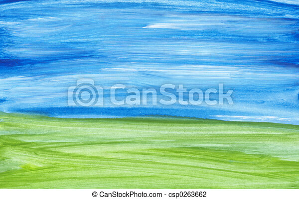 Abstract landscape - csp0263662