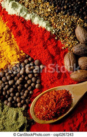 Spice Still Life - csp0267243