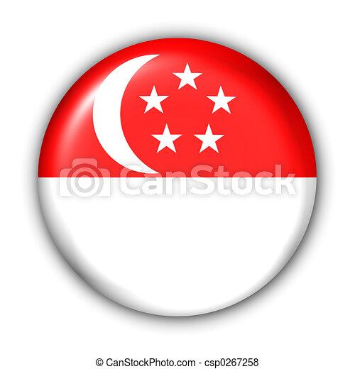 Singapore Flag - csp0267258