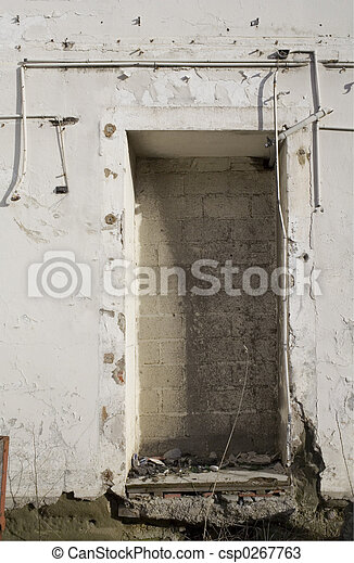 Bricked door - csp0267763