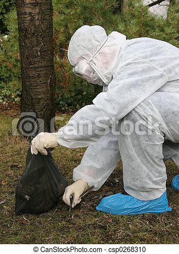 Bird flu danger 1 - csp0268310
