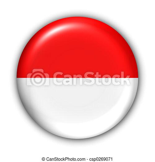 Indonesia Flag - csp0269071