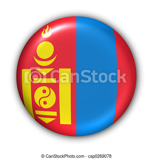 Mongolia Flag - csp0269078