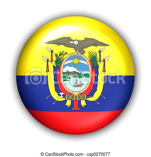 Fahne, Ekuador - csp0270077