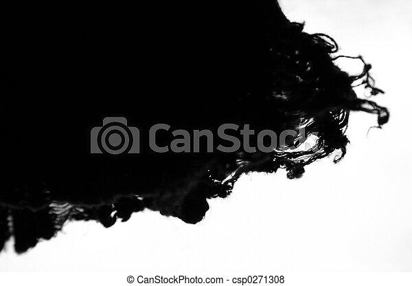 Frayed cardigan 2 - csp0271308