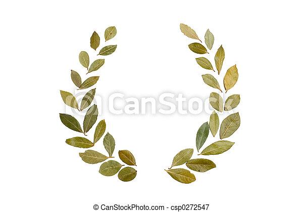 laurel wreath - csp0272547