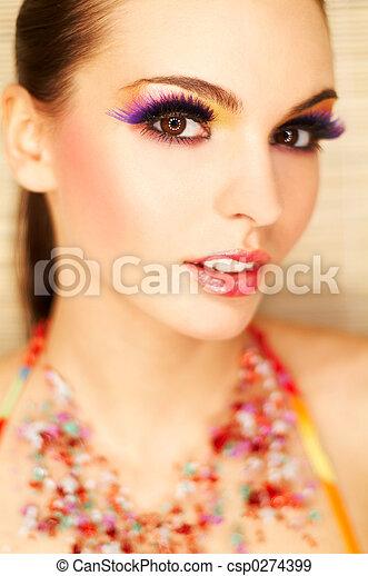 Artificial Eyelashes - csp0274399