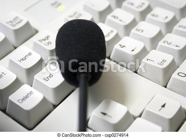 Keyboard&Mic - csp0274914