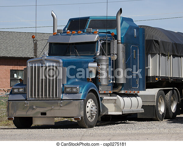 Semi Truck - csp0275181