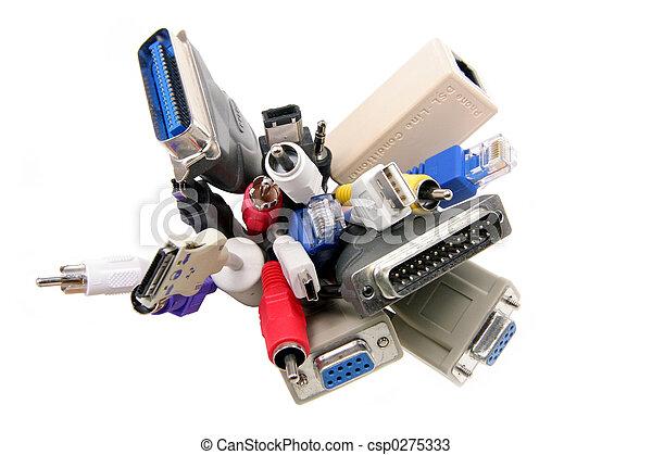 電腦, 電纜 - csp0275333