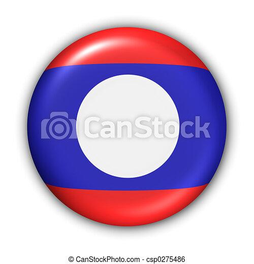 Laos Flag - csp0275486