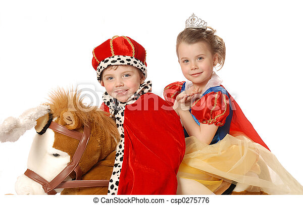 Prince and princess - csp0275776