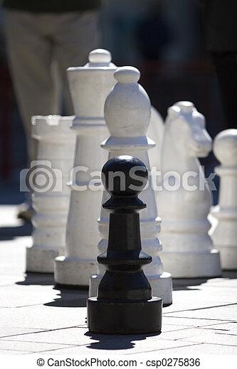 Feeling Like a Pawn... - csp0275836