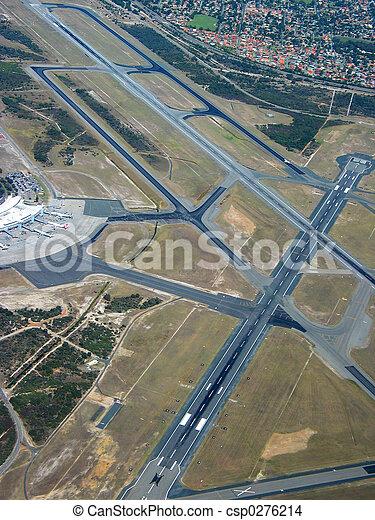 Airport Aerial - csp0276214