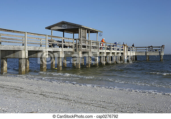 sanibel pier - csp0276792