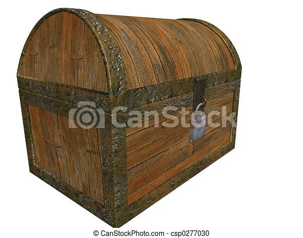 Treasure chest - csp0277030