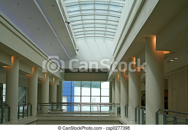 Pictures of skylight interior architectural view of a for Architectural skylights