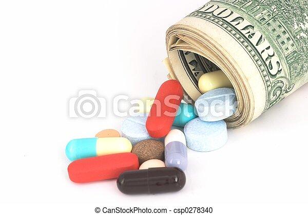 Expensive Medicine - csp0278340