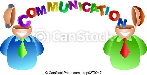 コミュニケーション, 脳 - csp0279247