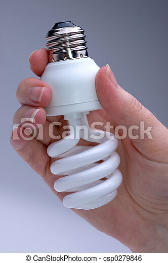 Energy Saver Lightbulb - csp0279846